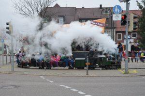 Weihnachtsmarkt Dampfzug