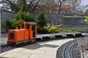 E-Lok Spur 7 Feldbahnlok, Achsfolge B